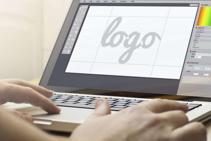 יצירת לוגו מודרני לעסק