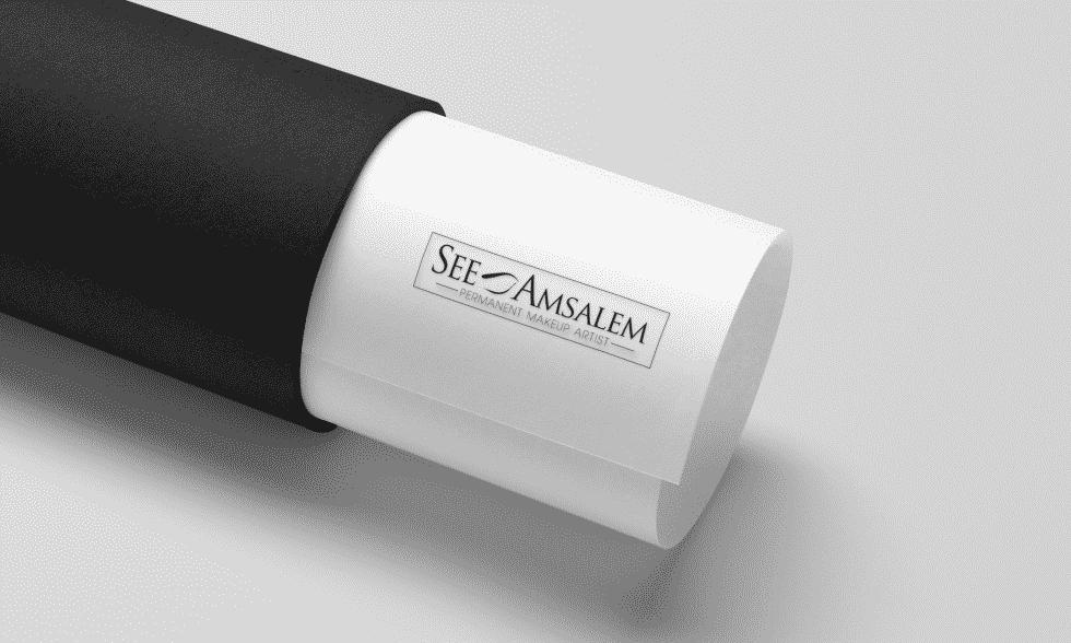 עיצוב לוגו - סי אמסלם