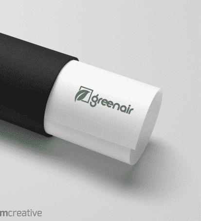 עיצוב לוגו - גרין אייר