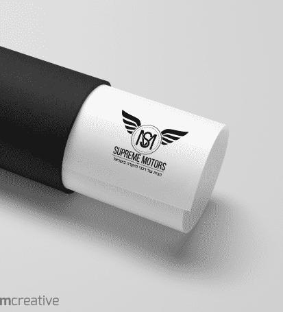עיצוב לוגו - סופרים מוטורס