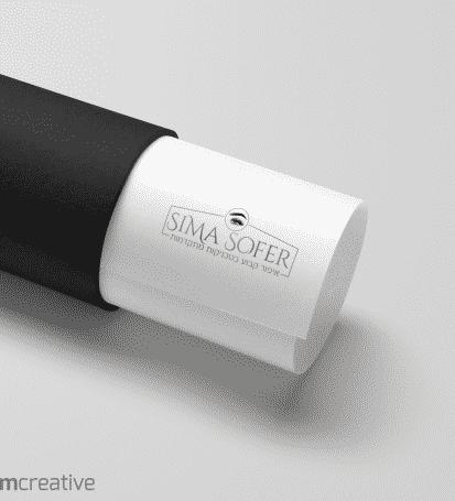 עיצוב לוגו - סימה סופר