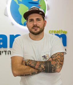 רן אדר - מנכל רנקום קריאייטיב