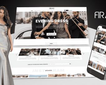 עיצוב ובניית אתר פיראס